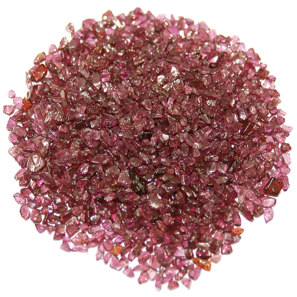 "Tumbled Garnet Chips ""Extra"" (India)"
