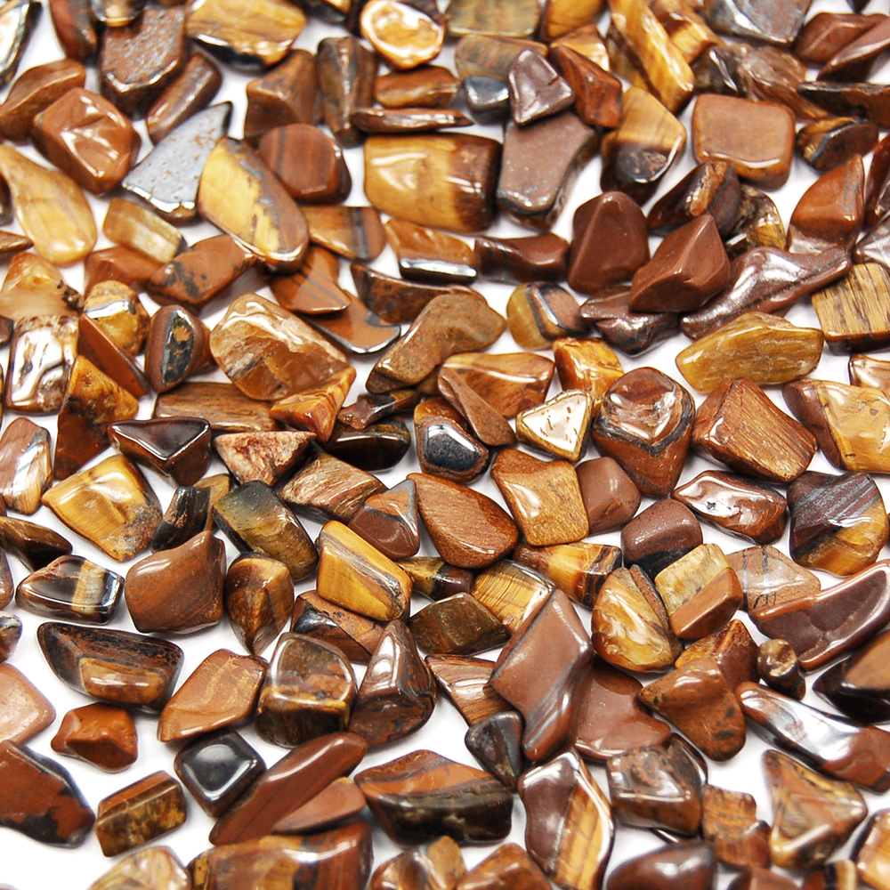 Tumbled Golden Tiger Eye Mini Chips (Africa)