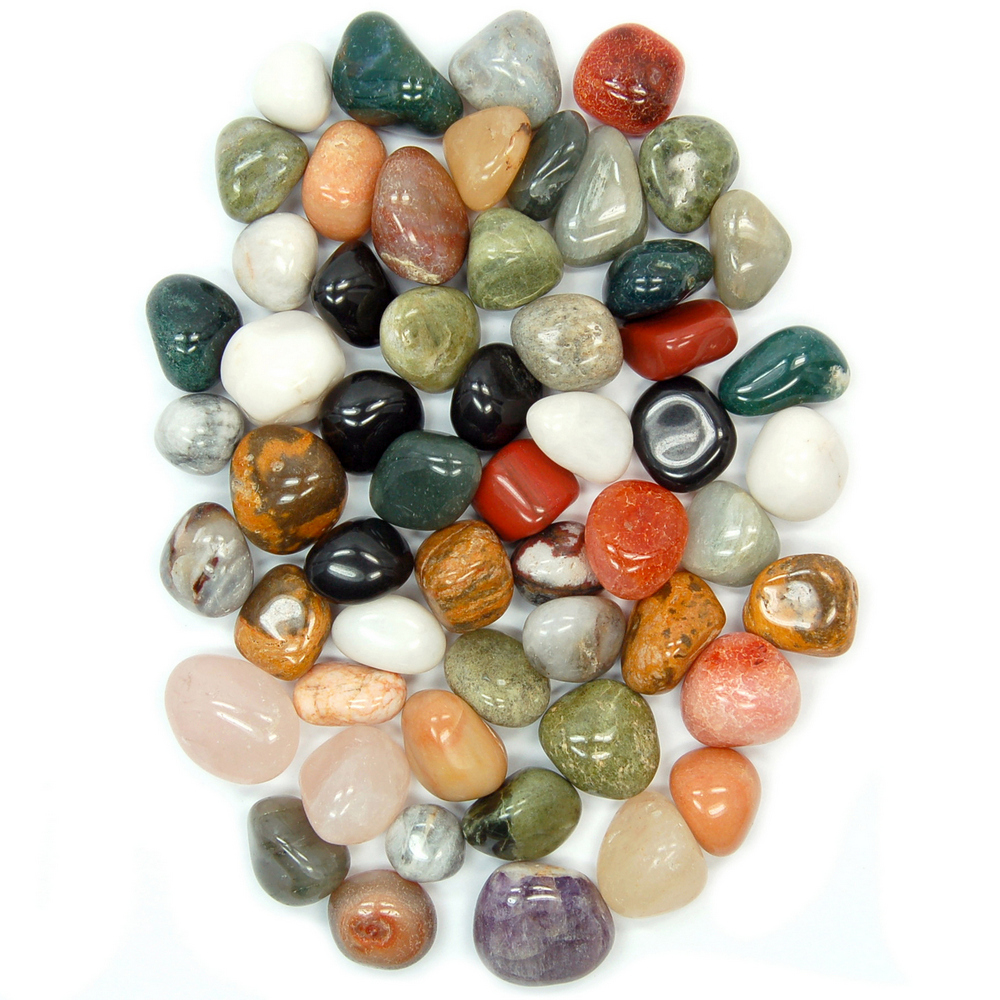 Wholesale - 1lb. Tumbled Grab Bag Assortments (10lbs.)