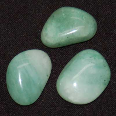 Tumbled Green Aventurine - Tumbled Stones