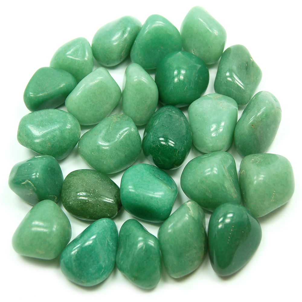 Tumbled Green Quartz (Brazil) - Tumbled Stones