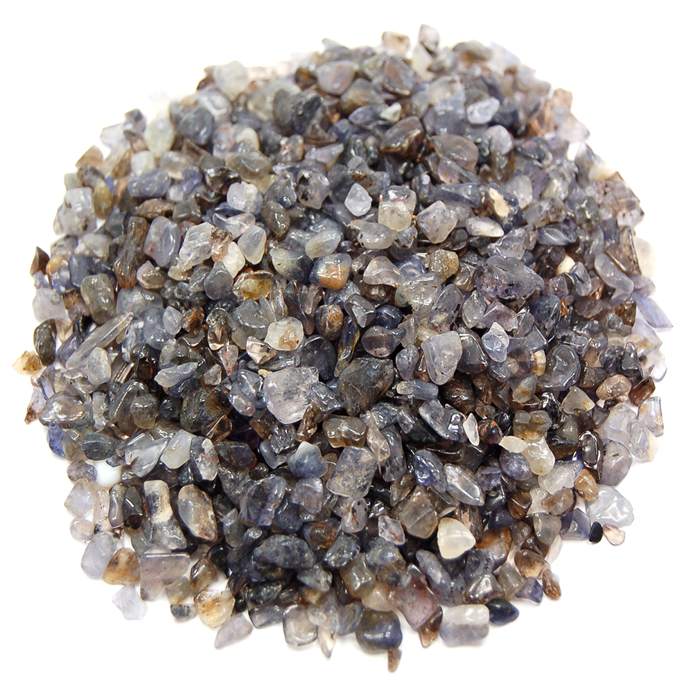 Discontinued - Tumbled Iolite Chips (India)