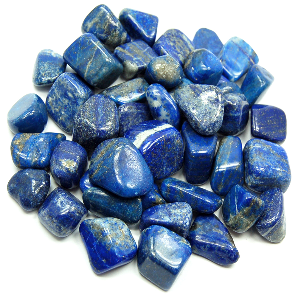 Tumbled Lapis Lazuli (Pakistan) - Tumbled Stones- Lapis Lazuli ...