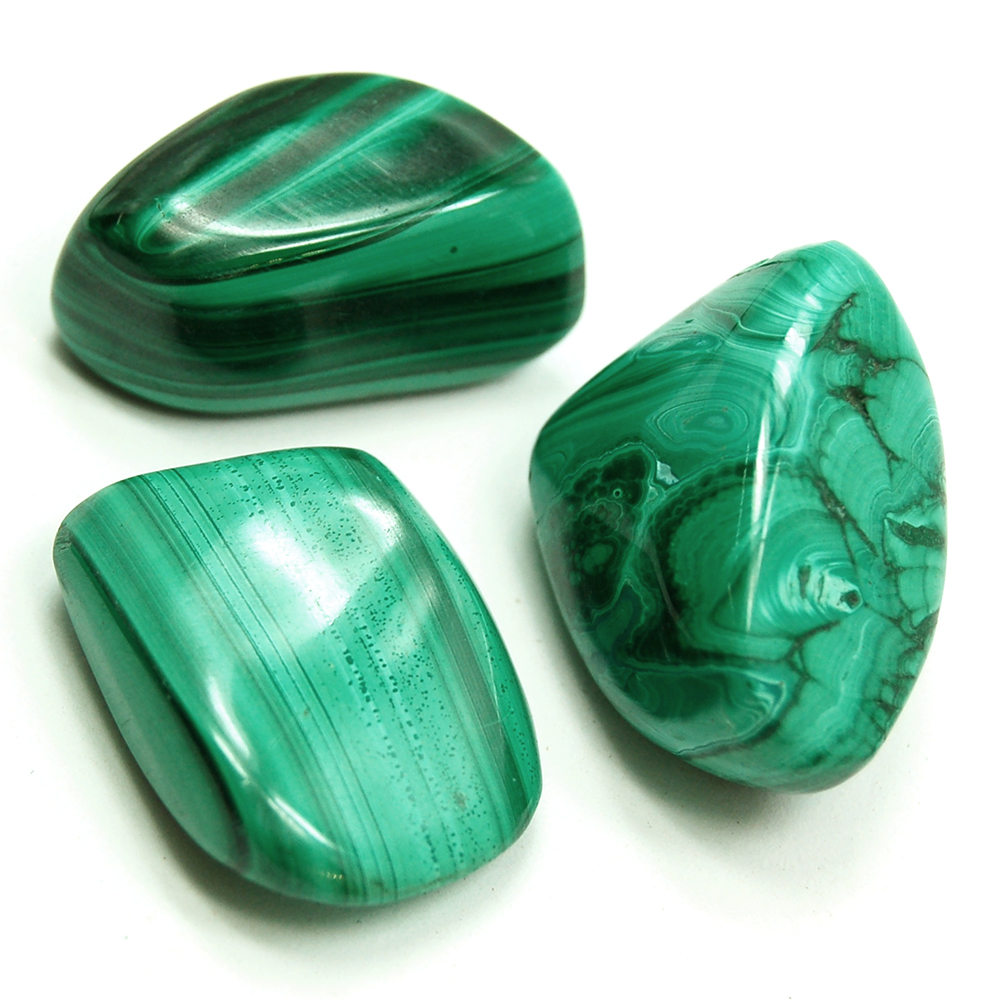 Tumbled Malachite - Tumbled Stones photo 3