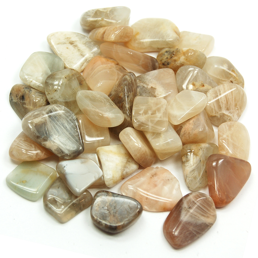 Tumbled Moonstone (China) - Tumbled Stones