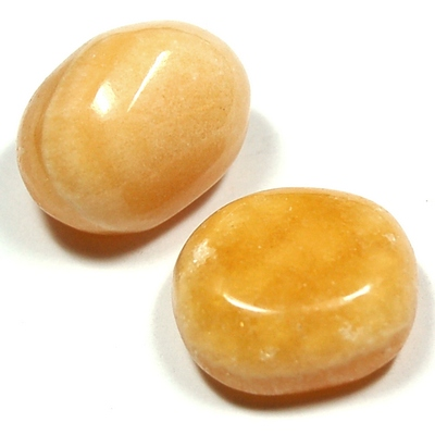 Tumbled Orange Calcite (Mexico) - Tumbled Stones photo 7