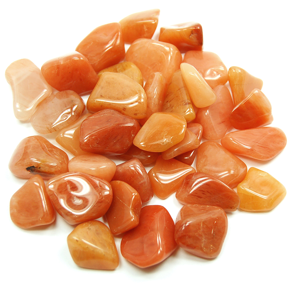 CLEARANCE - Tumbled Peach Quartz (Brazil)
