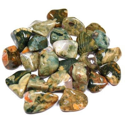 Tumbled Rainforest Rhyolite (Australia) - Tumbled Stones