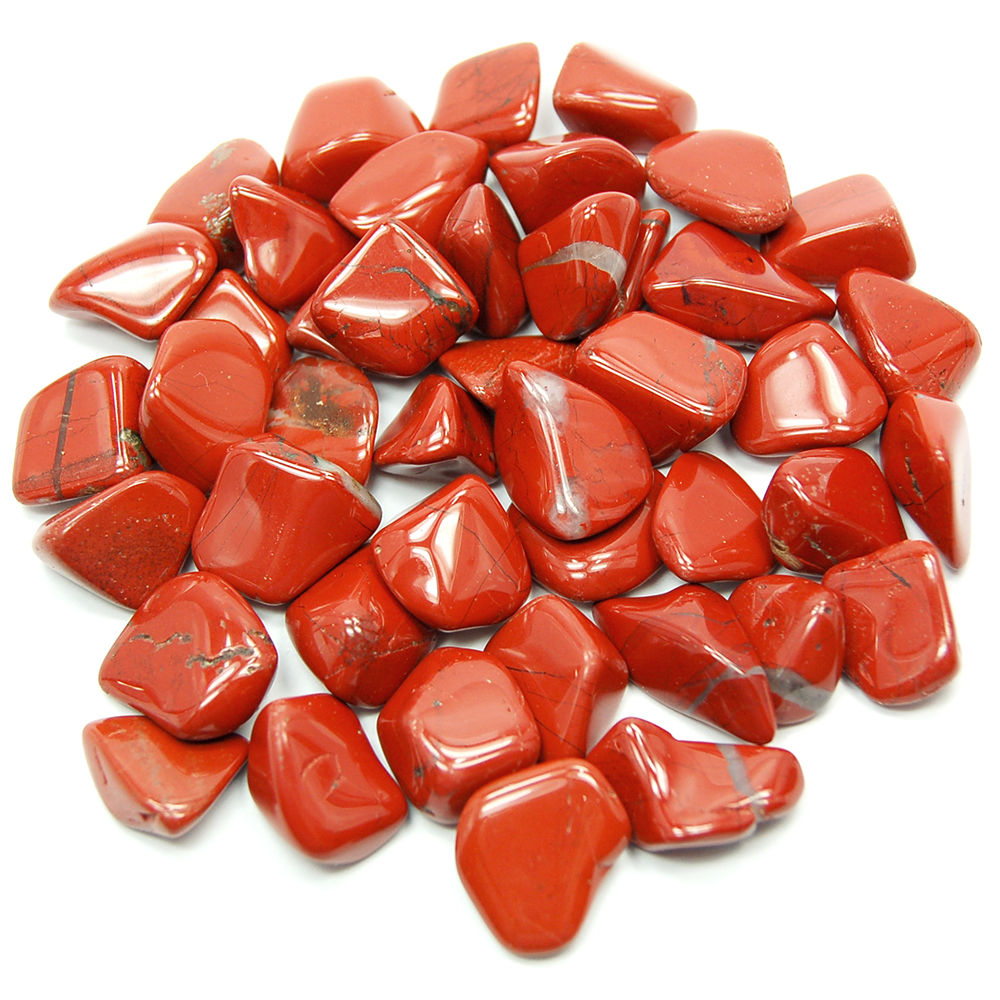 "Tumbled Red Jasper ""Extra\"" (Africa) - Tumbled Stones"