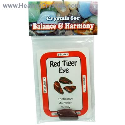 Tumbled Red Tiger Eye (Africa) - Tumbled Stones