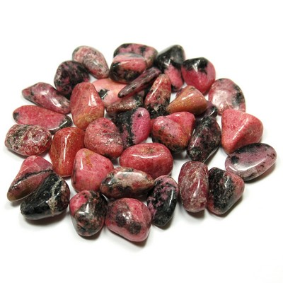 Tumbled Rhodonite (Madagascar) - Tumbled Stones