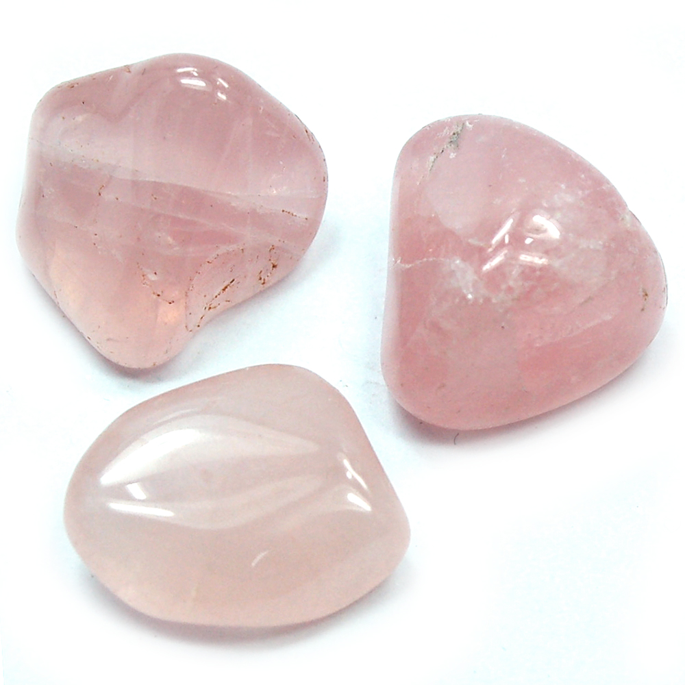 Tumbled Rose Quartz Crystal - Tumbled Stones photo 2
