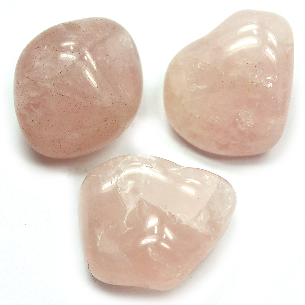 Tumbled Rose Quartz Crystal - Tumbled Stones photo 6