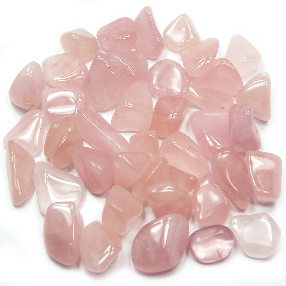 "Tumbled Rose Quartz ""Extra"" (Africa) - Tumbled Stones"