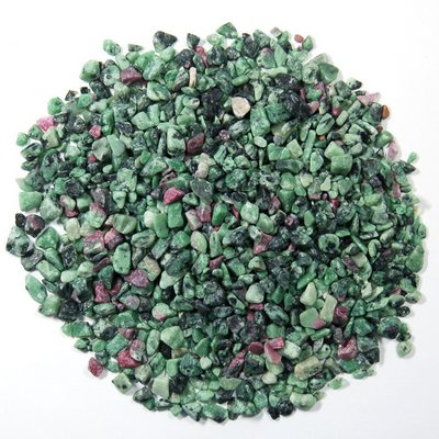 Discontinued - Tumbled Ruby in Zoisite Chips (India)