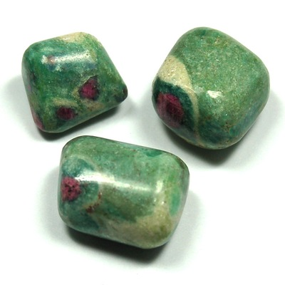 Tumbled Ruby Zoisite - Tumbled Stones photo 9