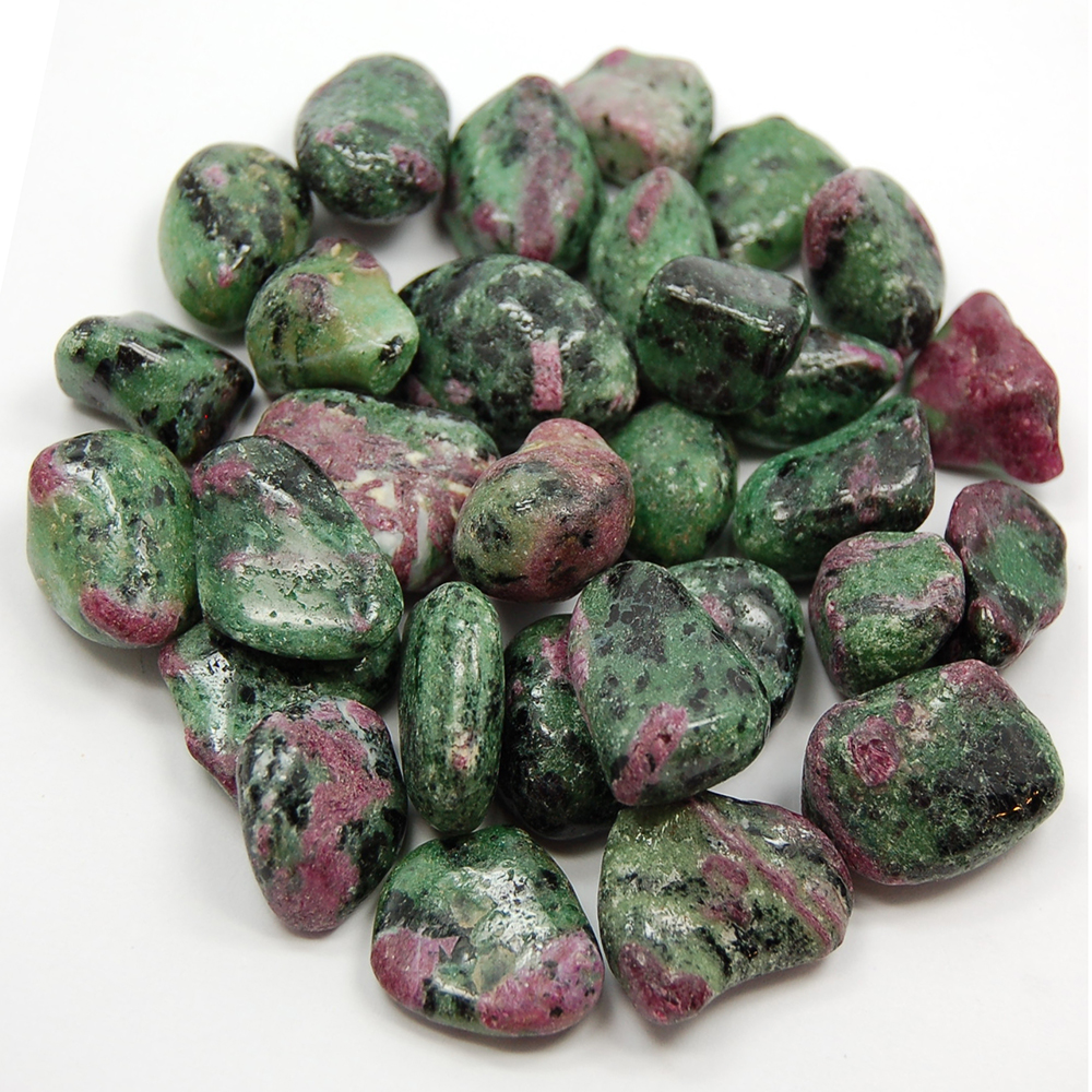Ruby in Zoisite (Anyolite)