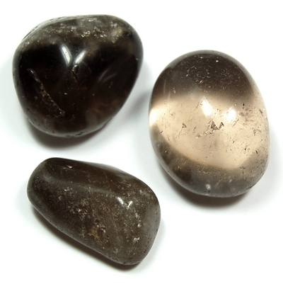 "Tumbled Smokey Quartz (Dark) ""Extra/A\"" (Brazil) - Tumbled Stones"