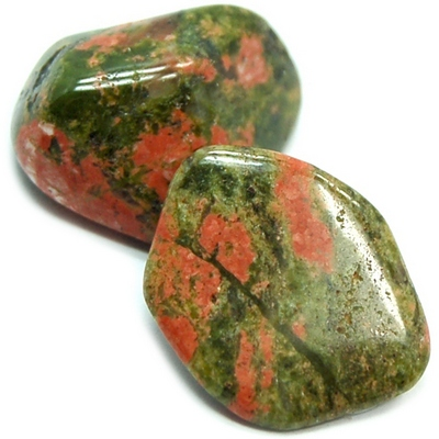 Tumbled Unakite - Tumbled Stones photo 5