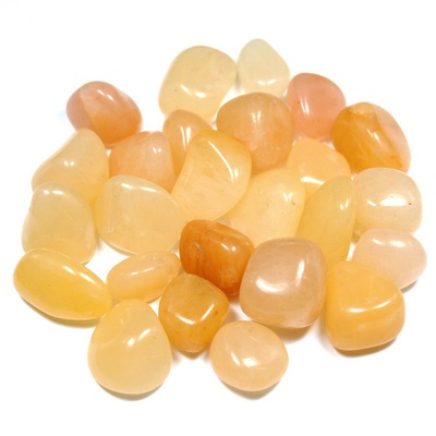 Tumbled Yellow Aventurine (India) - Tumbled Stones