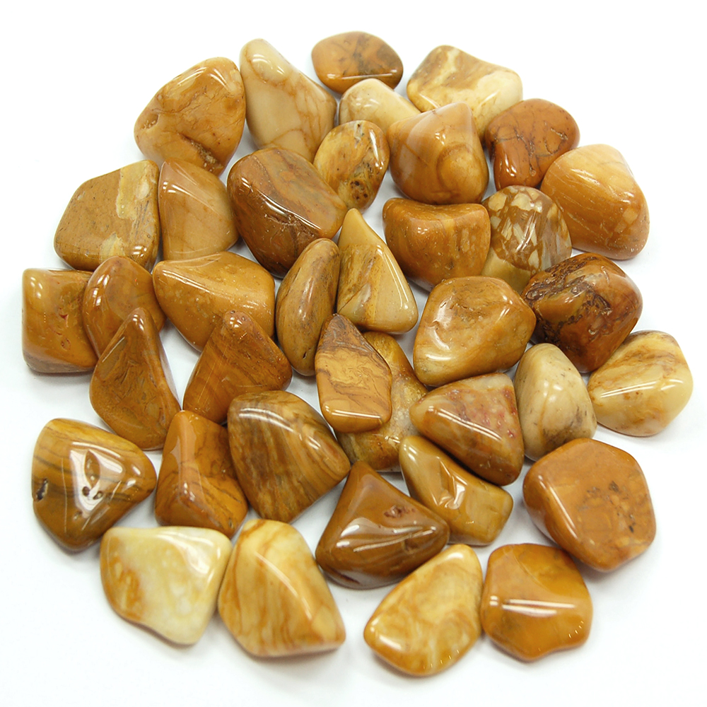 Tumbled Yellow Jasper (Africa) - Tumbled Stones
