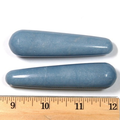 Wand - Angelite Massage Wands (Peru)