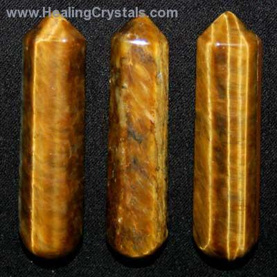 Wand - Golden Tiger Eye Massage Wands