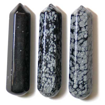 Wand - Snowflake Obsidian Wands photo 4