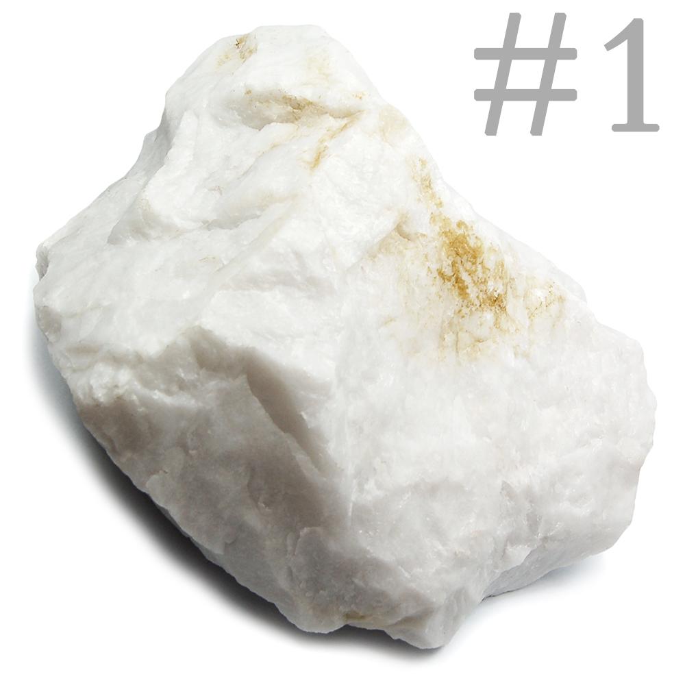 df92fce4f6b3 Specimen - White Quartz Natural Chunks (Brazil)- Snow Quartz ...