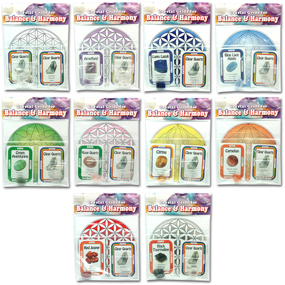 Wholesale - Chakra Grid Kit Assortment (10 Sets)