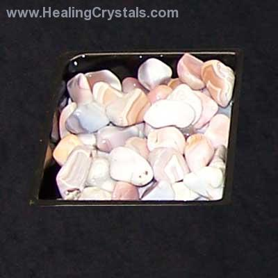 ASST#2 - 10 Different Tumbled Stones - 1Lb. Bags