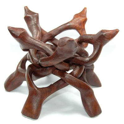 Wooden Tripod Puzzle Stand photo 8