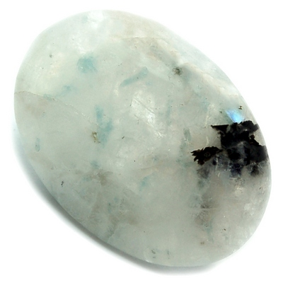 Worry Stones - Rainbow Moonstone Worry Stone (India)