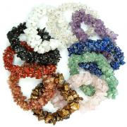 CLEARANCE - 10pc. Chakra Cluster Bracelet Assortment (India)