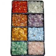 CLEARANCE - ASST#1 - 8 Different Tumbled Stones - 1Lb. Bags