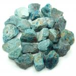 Apatite - Blue Apatite Natural Chips/Chunks (Brazil)