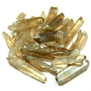 Aura Quartz - Champagne (Smokey) Aura Points (Brazil)