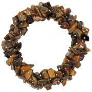 Bracelets - Golden Tiger Eye Cluster Bracelet (India)