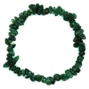 Bracelets - Green Aventurine Single Strand Bracelet (India)