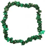 Bracelets - Malachite Single Strand Bracelet (India)