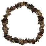 Smokey Quartz Single Strand Bracelet
