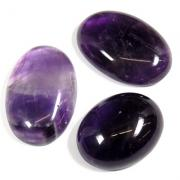 "Cabochons - Amethyst Oval Cabochon ""A"" (India)"