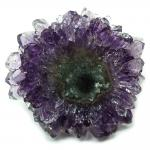 Amethyst Cabochon Druze Flowers (India)