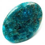 Cabochons - Blue Apatite Cabochon (India)