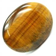 Cabochons - Golden Tiger Eye Cabochon (India)