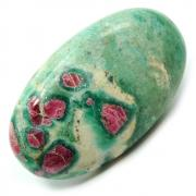 Cabochons - Ruby in Fuchsite Cabochon (India)