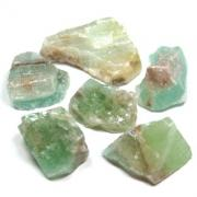 Calcite - Green Calcite Chips & Chunks (Mexico)