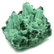 Green Chromium Quartz Clusters (China)