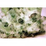 Clear Quartz Clusters w/Green Phantoms (China)