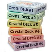 Crystal Information Cards / Oracle Decks #1,2,3,4,5 & 6